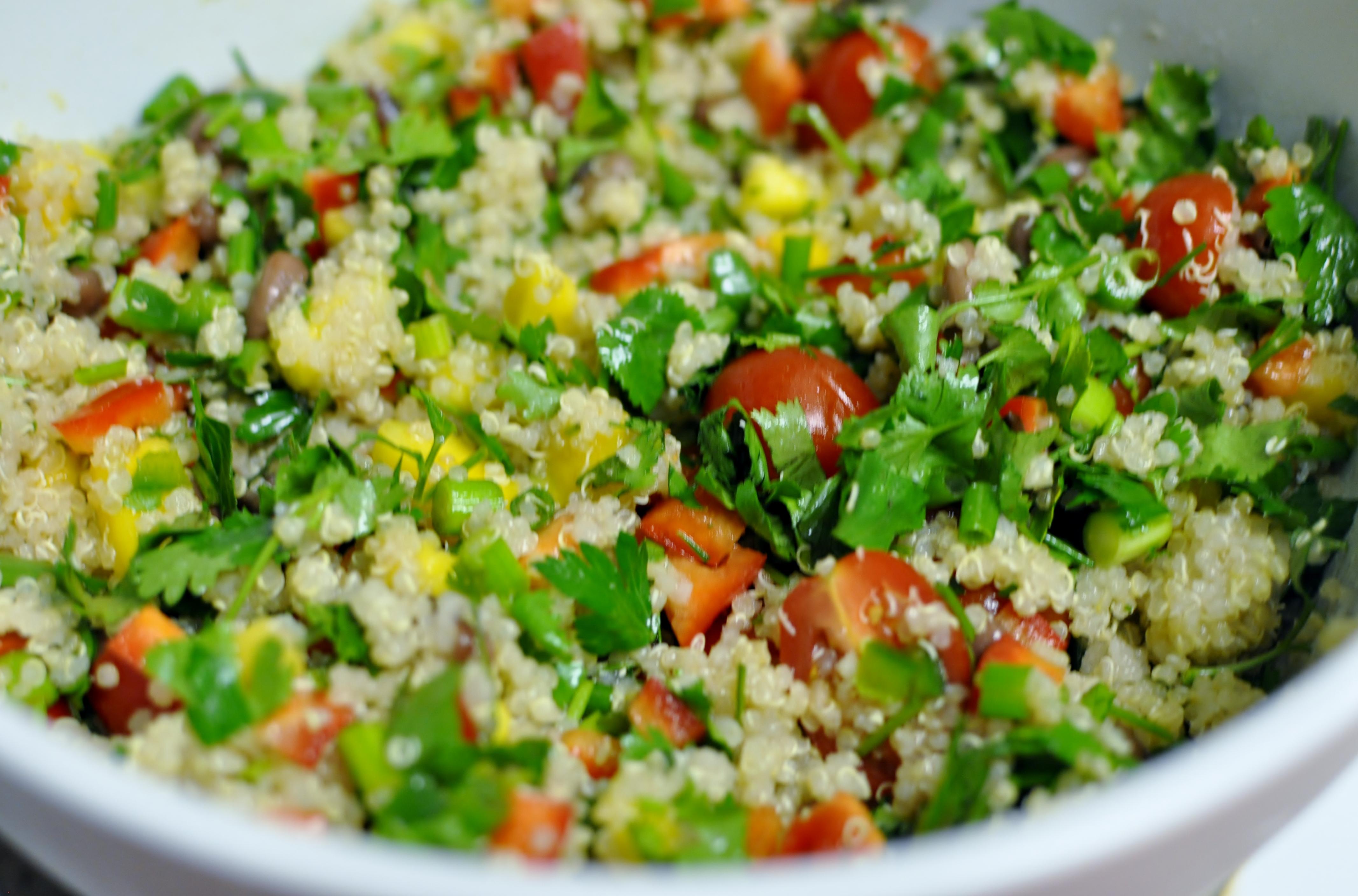 Quinoa Salad Cilantro That this salad is good onQuinoa Salad Cilantro