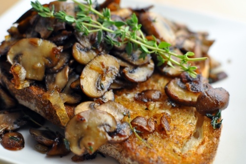 All I can say about Buttered Mushrooms on Toast is that they are truly ...