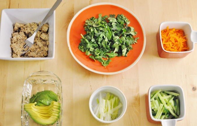 Salad Rolls 2