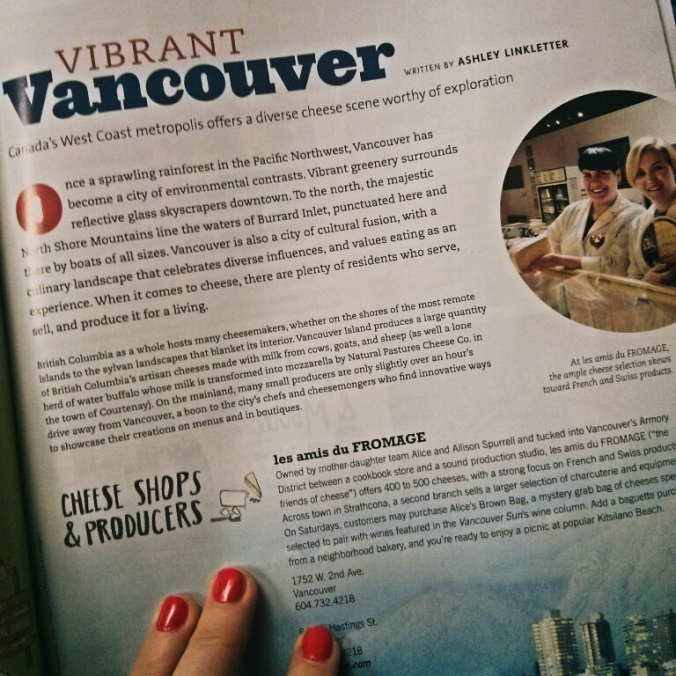 Culture magazine summer 2014 issue Vancouver