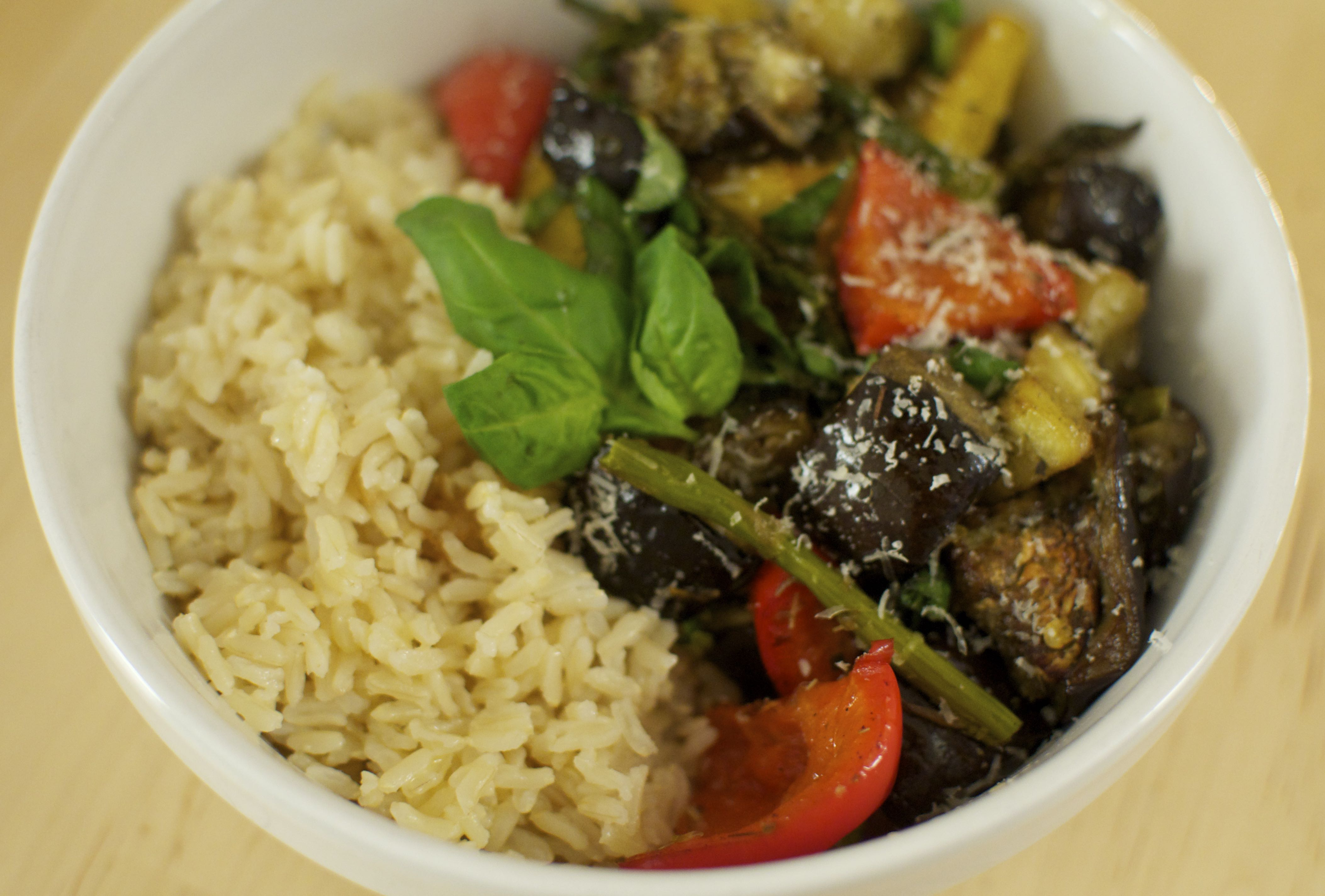 Brown Rice With Grilled Vegetables Recipes — Dishmaps