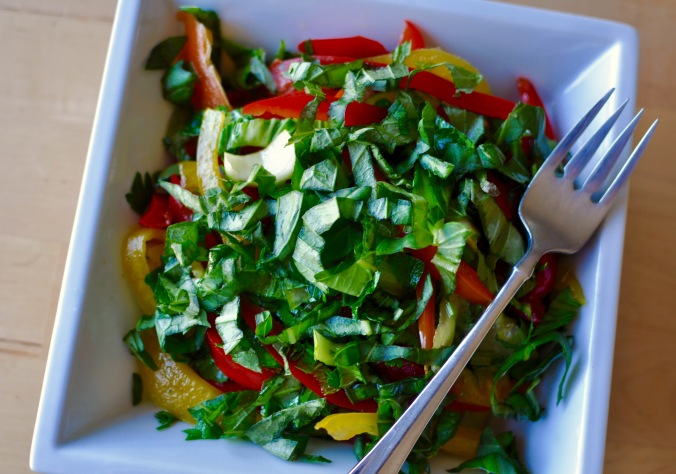 Sweet Pepper Slaw